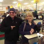 Todd N getting to know the customers