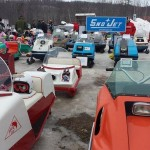 There were sleds from all around the Midwest and even from Canada at the show