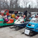 There was fun for all ages at the Antique & Vintage Snowmobile Show