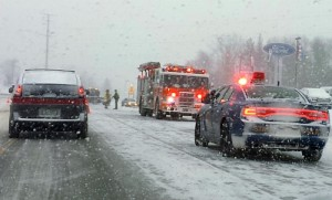 Traffic Accident In Marquette Township