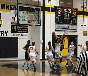 Negaunee Miners Girls Basketball VS Gwinn Modeltowners on Sunny.FM 02-16-16