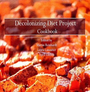 The Decolonizing Diet Project Cookbook produced by the NMU Center for Native American Studies