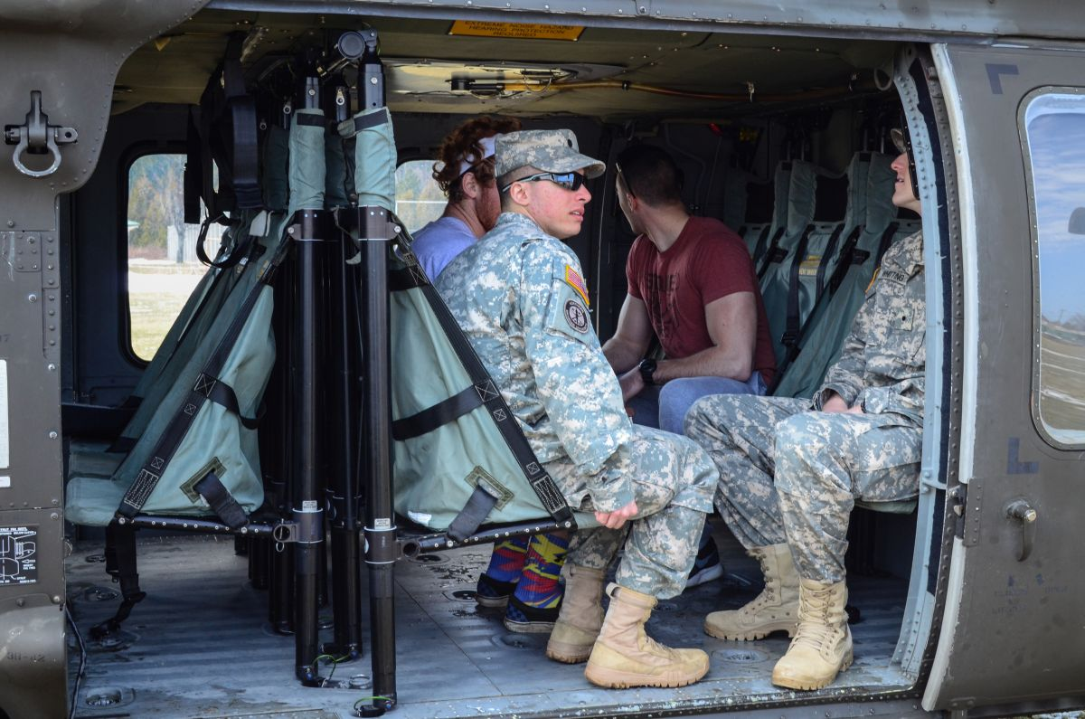 The national guard comes to northern michigan university for Newberry motors newberry mi