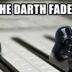 All About the Bass Darth Vader Fader Star Wars Luke Skywalker