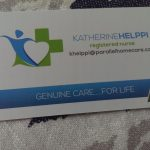 Katherine Helppi Registered Nurses Business Card
