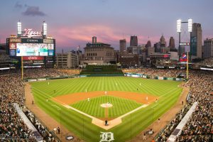 Photo of Comerica Park by Mike Tokarz Photography