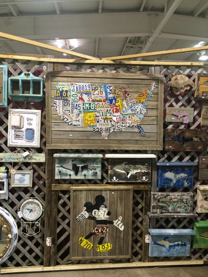 Hit the nmu superior dome with your mom for the tv6 mother for Craft show in michigan