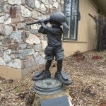 Memorial Statue at the Marquette Golf Club