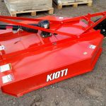 One of Kioti's lawn mower tractor attachments