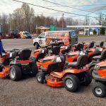 Ward's has a huge array of riding lawn movers to choose from!