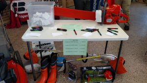 You can win tons of stuff when you come on in to Ward's Outdoor Equipment and Repair today!