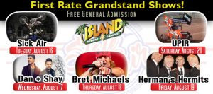 2016 UP State Fair Grandstand Entertainment