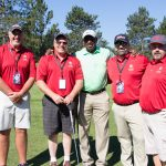 Great Lakes Radio Golf Team with Roy Green
