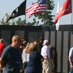 Many Viewers Honor Veterans at The Wall