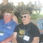 Veterans Smile at Wall Ceremony