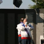Bugle Players Play at The Wall