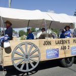 Lowell Larson for Sheriff Float