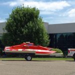 One of the hydroplane boats!