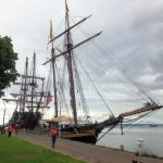 The Pride of Baltimore II and El Galeon