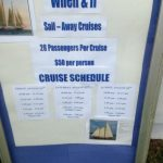 Tickets are on said for Cruises on When and If for $50 a person