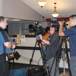 Honor Credit Union in Negaunee was filled with excitement