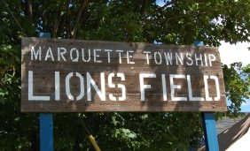 Lions Field Sign