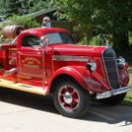 Marquette Charter Township Classic Fire Engine Very Popular with Visitors