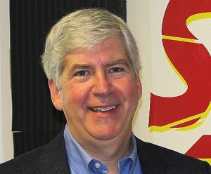 Gov. Rick Snyder Checks In From Paris During European Trade Mission