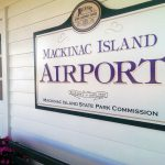 Entrance to the Mackinac Island Airport