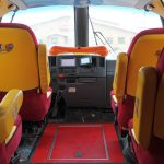 Inside view of the Weinermobile