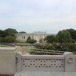 The view above Arlington Cemetery.