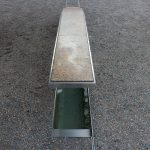 Pentagon Memorial w/ bench and running water