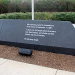 The description attached to the Pentagon Memorial