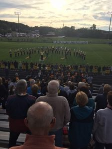 Negaunee Miners Football VS Gladstone Braves 09/09/16 on Sunny.FM.
