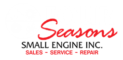 Visit them today in Escanaba, or shop online at 4seasonssmallengine.com!