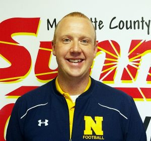 Negaunee Schools Athletic Director Andrew Brunette