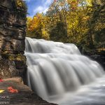 Here's Canyon Falls in L'Anse! There's a 12x18 framed print of this shot in the bakery.