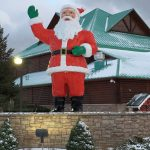 Come see the giant Santas!