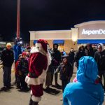 Everyone was so excited to see Santa.