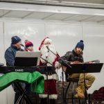 Santa joining the GLR Crew on Stage.