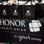 Honor Credit Union came out to join us with free popcorn!