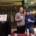 Thanks to BIGGGBY COFFEE for also making it out. They gave out free cups of coffee and coupons to the store.