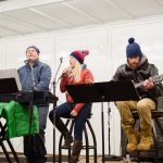 These guys did a great job in leading everyone in the Christmas Carols.