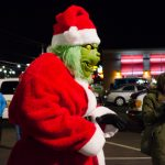 The Grinch was out to ruin Christmas