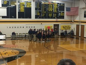 Negaunee Miners Boys Basketball VS Iron Mountain Mountaineers on Sunny.FM. 01/24/17