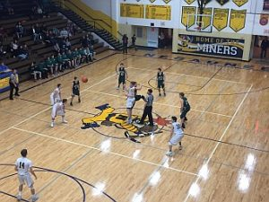 Negaunee Miners Boys Basketball VS Manistique Emeralds on Sunny.FM 01/27/17