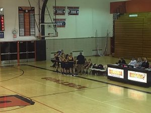 Negaunee Miners Girls Basketball VS Escanaba Eskymos 01/25/17
