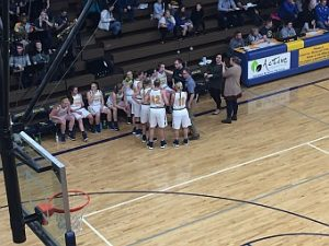 The Negaunee Miners Girls Basketball VS Ishpeming Hematites 01/23/17 on Sunny.FM.