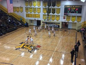 Negaunee Miners Girls Basketball VS Westwood Patriots on Sunny.FM 01/20/17