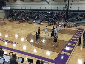 The Negaunee Miners Boys Basketball VS Gladstone Braves 02/14/17 on Sunny.FM